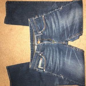 Beautiful Armani exchange denim jeans size 4 short